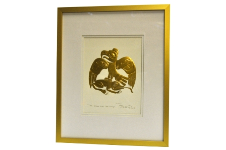 Framed Art Card, The Eagle and the Frog, Bill Reid