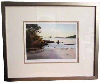 Framed Art Card of Breeze Across Wickaninnish