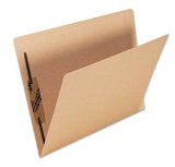 Lateral File Folder Letter, with Fastener