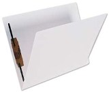 Lateral File Folder, Letter, with Fastener