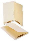 Lateral File Folder, Legal, with Fasteners