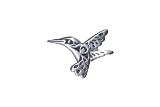A Brooch, Hummingbird
