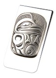 A Pewter Money Clip, Raven Design