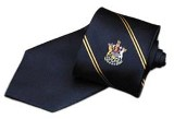 Silk Tie, BC Coat of Arms Logo
