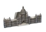 Business Card Holder, Pewter Legislative Buildings