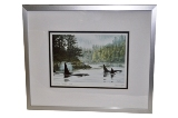 Framed Art Card, Northwest Passage by Don Li-Leger.