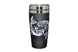 Travel Mug, Stainless Steel, Salmon