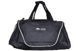 Sports, Black Duffle Bag for Him