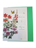 Card, Thank You with Flower Seeds, Five in Pack