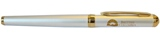 Pen, Silver with Gold Accents and BC ID Logo