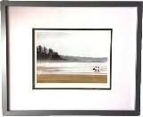 Framed Art Card of Tofino Beach by Jeff Maihara