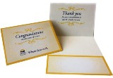 BCPS  Congratulations  and Thank you card for service pins