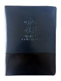Black Padfolio Writing Pad with Debossed BC Coat of Arms