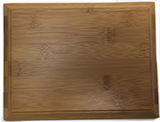 Blank Bamboo Plaque, BC Prosecution Services